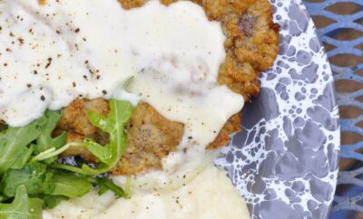 Dutch Oven Chicken Fried Steak by a Chuckwagon Master Chef