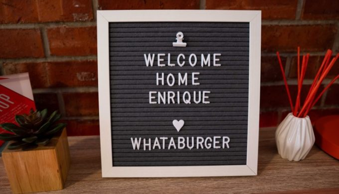 Superfan Gets Dorm Room Decked-Out In Whataburger Style