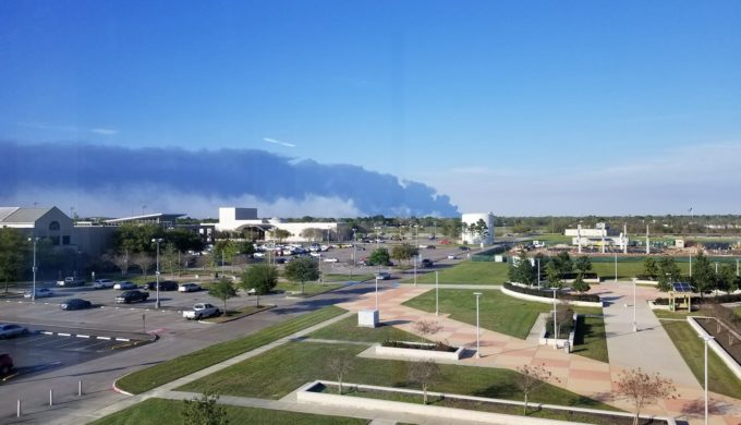 Deer Park Petrochemical Fire Reignites: Black Smoke Billowing Again