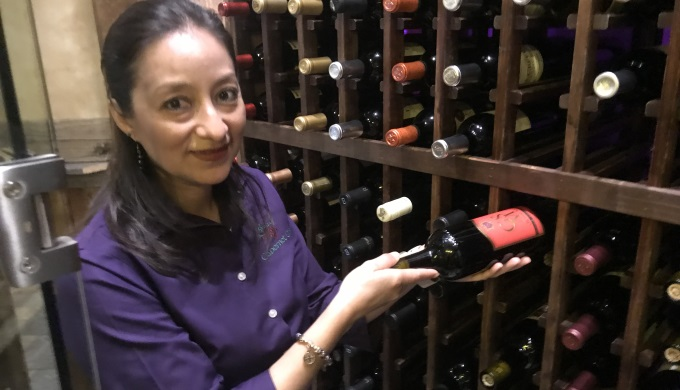Sommelier at Cabernet Grill