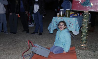 Watch the Winner of the Kids' Coloring Competition Light Up Llano