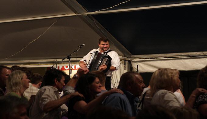 New Braunfels Wurstfest Dancing