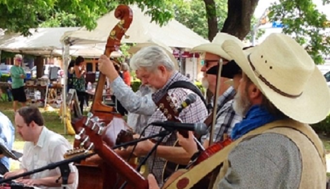 swing band playing