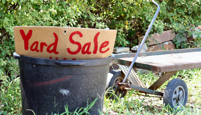 Hill Country Happenings Yard Sale