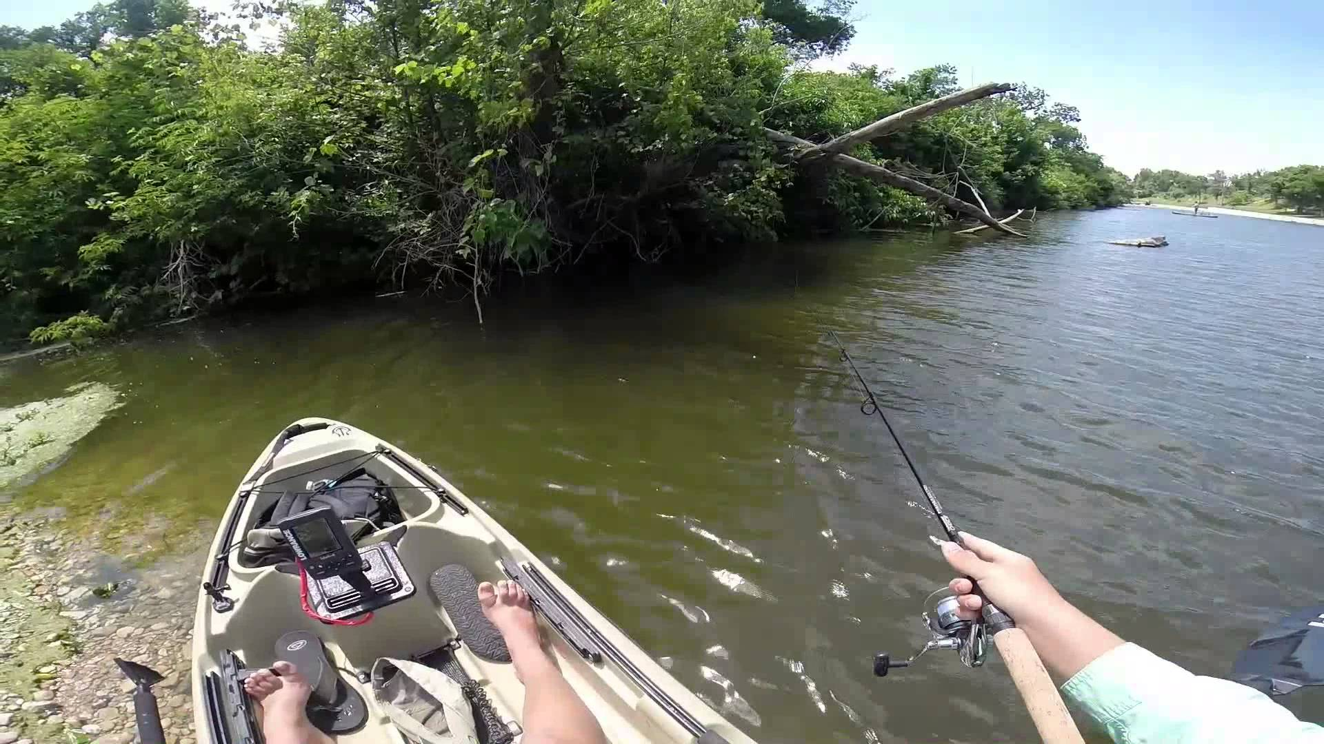 5 texas hill country waterways perfect for an angler paddler for Trinity river fishing spots